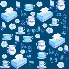 Tea and Sympathy on Blue