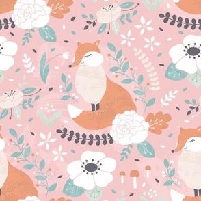 Fox in bloom