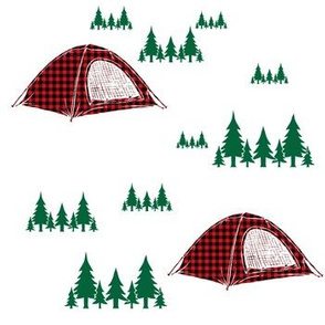 Camping Adventure - Plaid