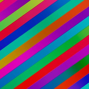 Rainbow Roll - flat