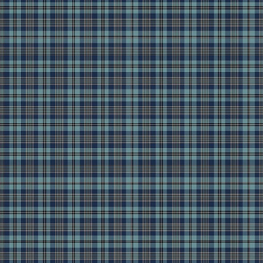 Custom Trendy Blue Plaid 2 Railroaded