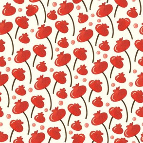 Winter Berries - cream