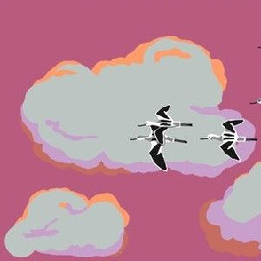 collective: colony of avocets 3 [shrimp]