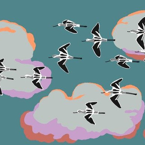 collective: colony of avocets 1 [kale]