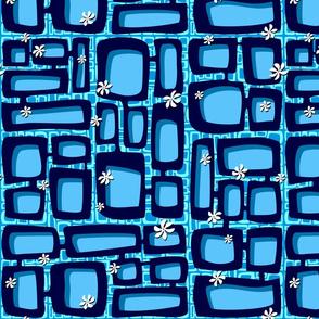 Mod Century Tiki Bricks 006