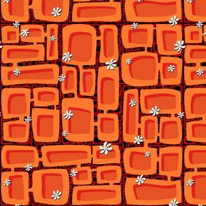 Mod Century Tiki Bricks 008