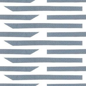 Uneven Paper Stripes