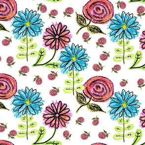 Scruffy Flowers