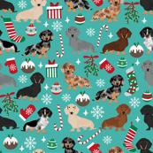 doxie christmas fabrics cute dachshunds fabric best dachshunds fabric