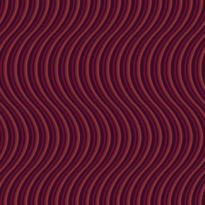 Swirly curly, in reds