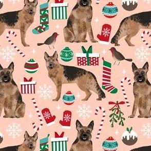 german shepherds fabric christmas dog dogs fabric cute xmas dog fabric german shepherds dogs fabric