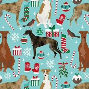 greyhound christmas dogs fabric dog christmas fabric xmas greyhounds fabric xmas dogs fabric