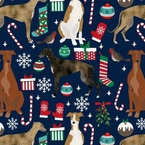 greyhound christmas fabrics dog christmas design xmas holiday christmas fabrics greyhounds