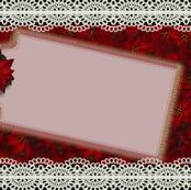 Poinsettia Gift Tag
