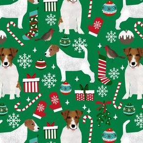 jack russell terrier christmas fabric jack russells dog fabric xmas christmas fabric
