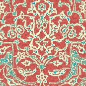 Persian Diversion Pompeii Red