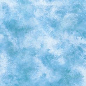WATERCOLOR Blue Swirl