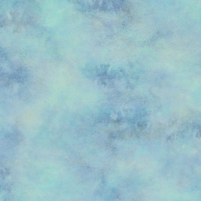 WATERCOLOR Ripple Blue Haze