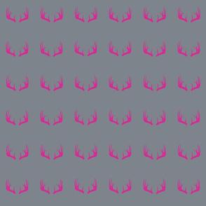 Pink Deer Antlers