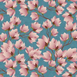 magnolia branch vibrant