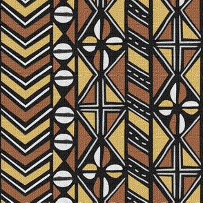 Mudcloth Inspired Chevrons and Cowrie Shells