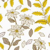 Pewter And Gold Holly -03