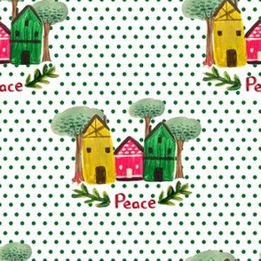 Time For Peace - Polka Dots