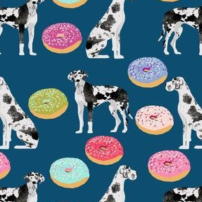 great dane dogs and donuts fabric cute donut fabric best great dane dog fabric dog owners will love this fabric