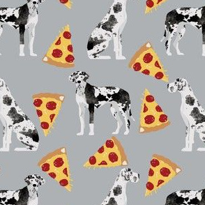 Great Dane pizza fabric cute dog fabric cute pizzas fabric best great dane designs for dog lovers cute dogs designs