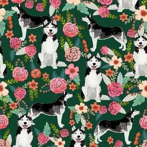husky floral fabric cute huskies fabric best dog fabric quilting fabrics cute dog quilting design