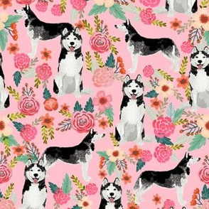 husky floral fabric cute flowers florals design cute dog design best florals les fleurs fabric best dog fabrics cute quilting fabrics