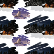Alpine Chalet Gift Wrap Competition
