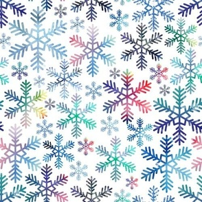 Prism Holiday Snowflakes
