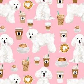 bichon frise coffee fabric cute dogs design dog fabrics best dog designs cute bichon frise dogs designs