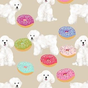 bichon frise fabric cute donuts dogs fabric best dogs and donuts design cute quilting fabrics for dog owners