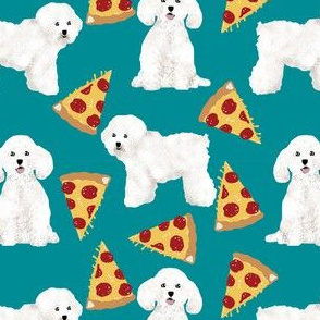 bichon frise pizza fabric cute dog fabric best dog quilting fabrics cute dog design best pizzas design