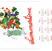 Tea Towel Calendar