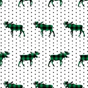 buffalo plaid moose christmas red and green plaid moose moose fabric green plaids