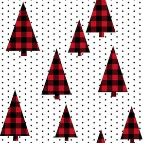 buffalo plaid christmas tree red plaid christmas plaid tree fir tree evergreens