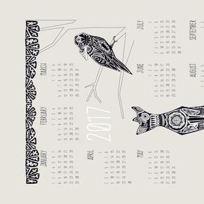 The Crow & the Fox 2017 Calendar