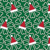 Christmas Candy Canes & Santa Hats