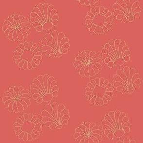 Yukata Maple Pompeii Red