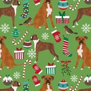 boxer dog christmas fabric cute xmas holiday christmas fabrics best xmas holiday dogs