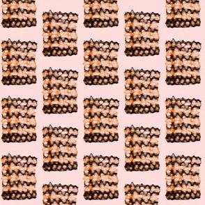 Chocolate Drizzles on Orange Cream Bickies