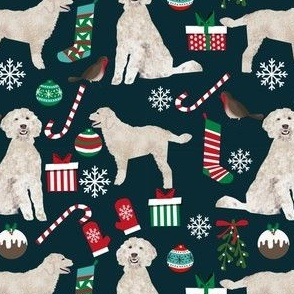 golden doodle christmas fabric cute christmas designs best golden doodle fabrics