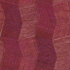 Manta Weave - berry