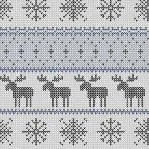 moose    winter knits (grey)