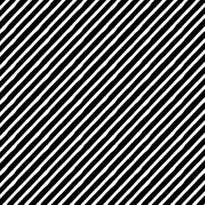 candy stripe - black and white || pandamonuim