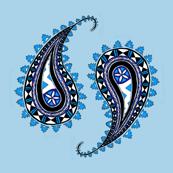 Paisley Blue Masi