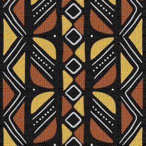 Mudcloth Inspired Butterfly